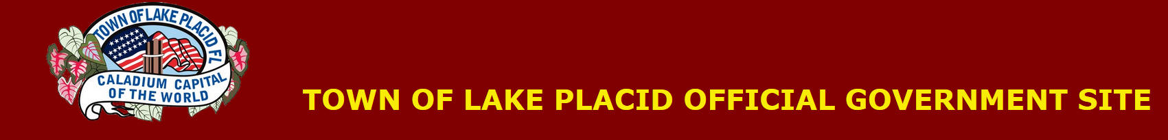 Town of Lake Placid Header